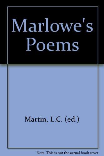 Marlowe's Poems