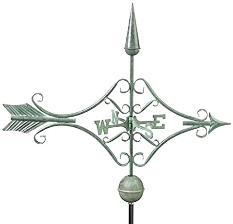 Good Directions 9642V1 Victorian Arrow Weathervane, Blue Verde Copper