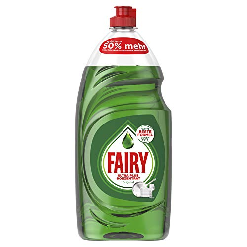 Spülmittel (Fairy Ultra Plus Konzentrat Original Spülmittel, 8er Pack (8 x 800 ml))