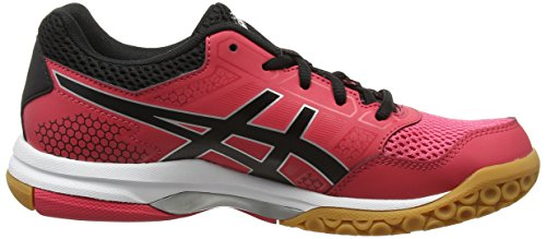 Asics Damen Gel-Rocket 8 Volleyballschuhe Rot (Rouge Red/black/white 1990)