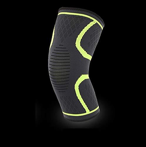 LANGYINH Kniebandage-Arthritis-Klammer, zur Schmerzlinderung im Kniebereich und zum Schutz vor Streuverletzungen und Chondromalazie (2-Pack),6,M