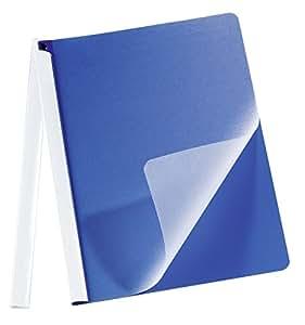 Durable Chemises Clip Masterclip Format A4 Bleu Fonc Chemise Plastique Avec Couverture De