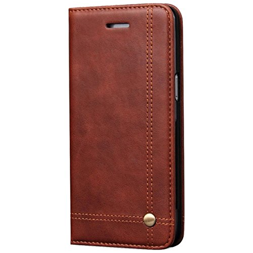 Quicksand Flip Cover For Samsung Galaxy S8 Plus Leather Case Leather Flip Cover For Samsung Galaxy S8 Plus Wallet Cases Book Cover Tpu Mobile Holder Mobile Stand Magnet Closure Brown