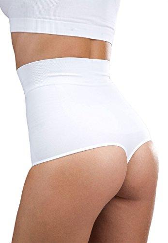 Oakeysì COK02 Perizoma vita alta contenitivo cotone fascia vita modellante pancia Nude