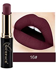 NICEFACE 24 nuances New LIP lingerie Matte rouge à lèvres liquide maquillage brillant à lèvres (16#)