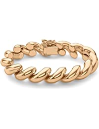 Carissima Gold 9ct San Marco Bracelet of 20.32cm