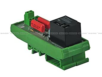 Shavison Relay Module AS701-230VAC-30A, 1 Channel, 1 C/O Contacts Rated for 30 Amps, Coil Voltage : 230VAC, Contact Rating : 30A@28VDC/230VAC