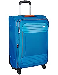 VIP Zane Polyester 67 cms Marine Blue Softsided Check-in Luggage (STZANW69MBL)