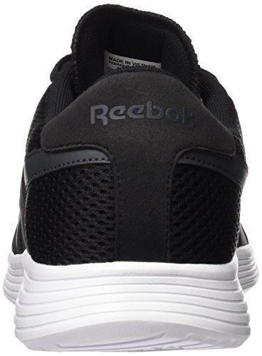 Reebok Royal EC Ride, Scarpe da Corsa Uomo Nero / Bianco (Black/Gravel/White)