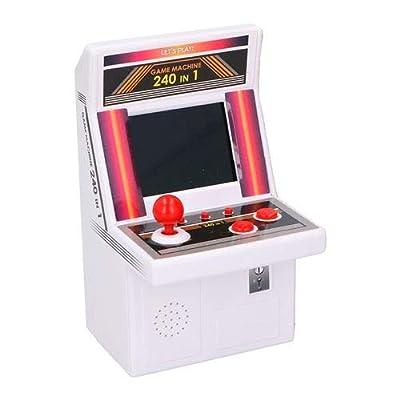 LA BOUTIQUE Super Fun Mini Console AUTOMATE Style Retro avec 240 Jeux