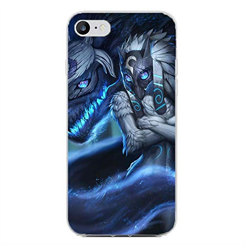 BEMAGIC iPhone 6/6s Case,Flexible Slim Silicone TPU Protector Cover Soft Thin Gel Skin For Apple iPhone 6/6s-Kindred The Eternal Hunter