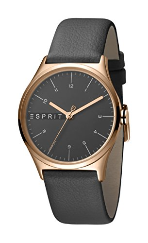 Esprit Womens Analogue Quartz Watch with Leather Strap ES1L034L0045