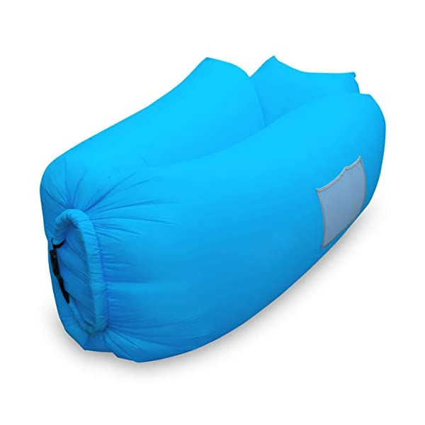 Siphly Inflatable Lounger, Air Sofa Hammock with Headrest, Waterproof & Anti-Air Leaking, Comfortable Inflatable Couch for Pool & Beach Parties, Traveling Camping Picnics & Backyard, Music Festivals 2