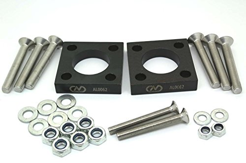 2 x RENAULT CLIO 15MM -1.5 DEGREE REAR CAMBER SHIMS / SPACERS 172 182 CUP TROPHY AL0062 Test