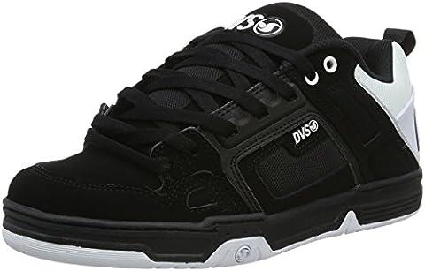 DVS SHOES Comanche, Chaussures de Skateboard Homme, Noir-Schwarz (Blk Wht