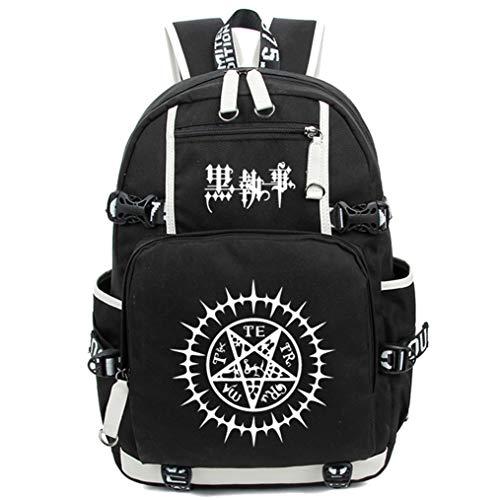 i Black Bulter Leuchtend Anime Rucksack Schulrucksack Backpack Schultasche ()