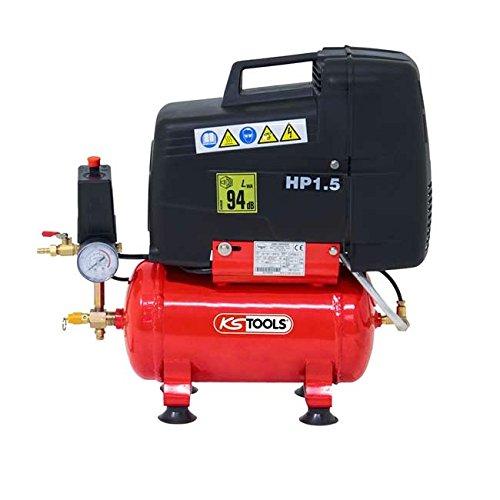 KS Tools – Compresseur d air – Compresseur à air sec 6 litres – 8 bars –  230V – KS Tools 165.0701 pas cher bf8be4083e65