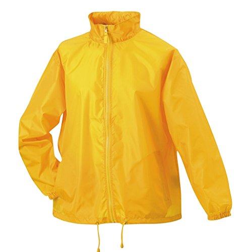 JAMES & NICHOLSON Leichte Windjacke für Freizeit und Promotion Yellow