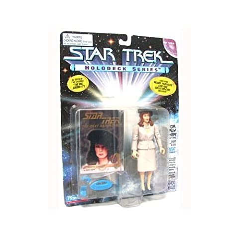 Star Trek Holodeck Series Dr. Beverly Crusher in 1940s Attire 1995