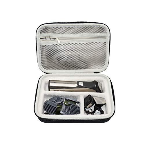 LUYIBA Étui de Voyage Rigide Housse pour Philips Multigroom Séries 3000 5000 7000 - MG3740/15/MG5740/15 MG7730/15 Tondeuse Multi-Styles