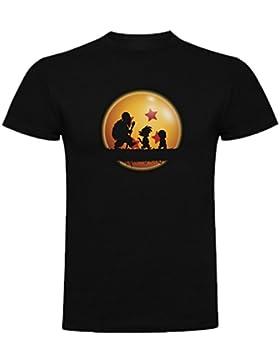 Camiseta de Mujer Dragon Ball Son Goku Anime Vegeta Piccolo Akira Toriyama