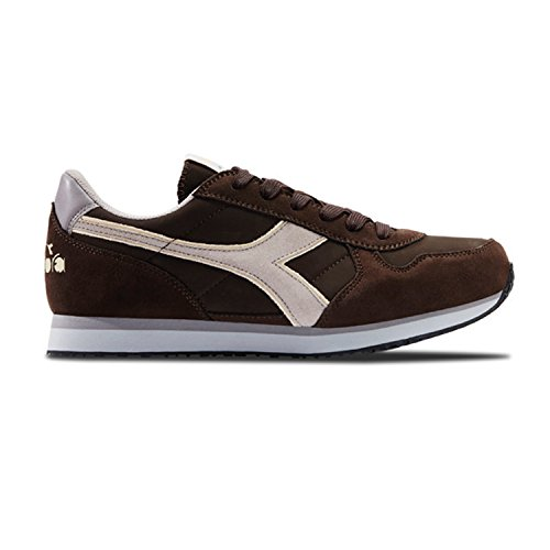 Diadora Malone S, Sneakers Basses Homme C7048 - CAFÉ-GRAY BEAN NUVOL