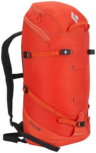 Black Diamond Speed Zip 24 Mochila, Color Rojo/Azul/Blanco, tamaño 55 x 31 x 9 cm, Volumen 24liters