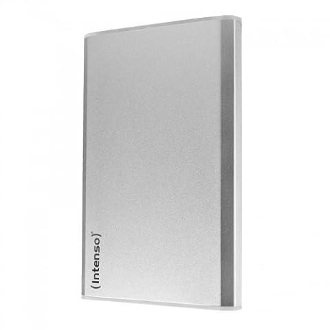 Intenso Memory Home 1TB externe Festplatte (6,4 cm (2,5 Zoll), 5400rpm, 8MB Cache, USB 3.0) silber