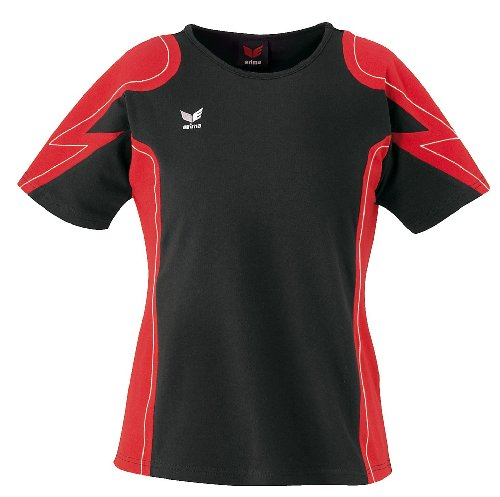 Erima Racing Line T-shirt Femme Rouge/Noir