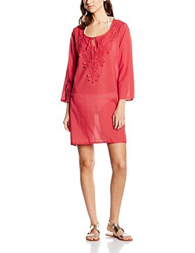 LingaDore Damen Strandkleid Bahama Tuniek Rot (Aardbei rood 30)
