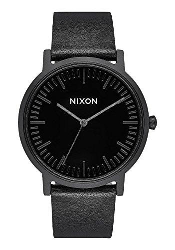 Nixon Hommes Analogique Quartz Montre avec Bracelet en Cuir A1058-1147-00
