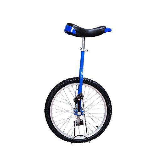 Soozier Monocycle/vélo à Une Roue Hauteur réglable Charge maximale 85 Kg