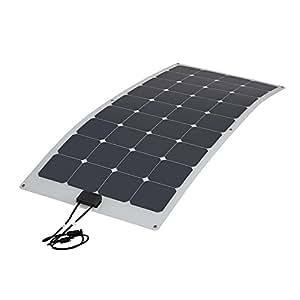 Biard® Panneau Solaire Photovoltaïque Flexible 100W Back Contact - Câbles et Connecteurs Fournis