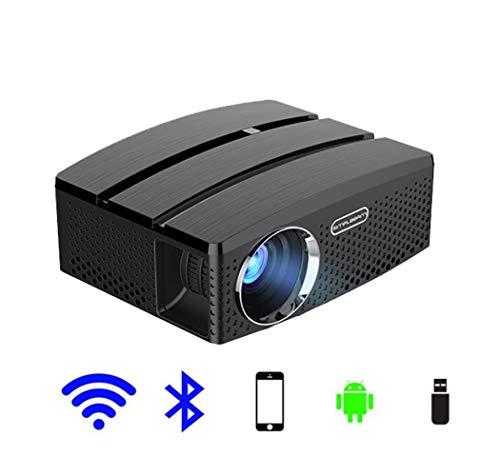 Mini tragbarer Projektor WiFi und Bluetooth-Heimkino stützen volles HD-Videokino 1080p 3D mit dem System Android6.01, gewöhnlich