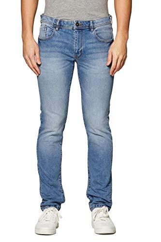 edc by ESPRIT Herren 029Cc2B004 Slim Jeans, Blau (Blue Medium Wash 902), W31/L36 (Herstellergröße: 31/36) Blaue Slim Jeans