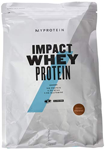 Myprotein Impact Whey Protein Chocolate Brownie, 1000g