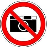 Aufkleber Fotografierverbot 200mm