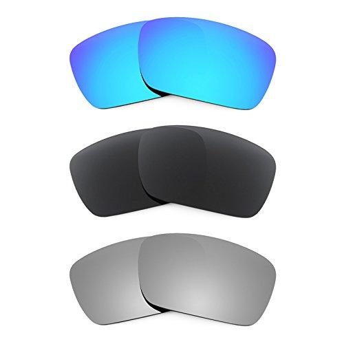 Revant Ersatzlinsen für Oakley Fuel Cell Polarisiert 3 Paar Kombipack K015