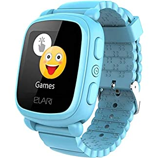 Elari KidPhone 2 Reloj Inteligente Azul TFT 3,66 cm (1.44″) Móvil GPS (satélite) – Relojes Inteligentes (3,66 cm (1.44″), TFT, GPS (satélite), Móvil, Azul)