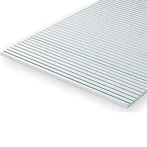 Evergreen-2020-Estructura Placa de Acoplamiento N de Escala, Juego, 1Pieza, 0.5x 150x 300mm