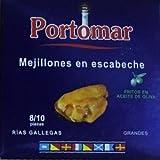 Cozze Portomar serie nautica 8/10 pezzi