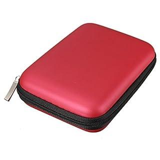 Angelo Caro-Portable Hard Disk Drive Shockproof Zipper Cover Bag Case 2.5