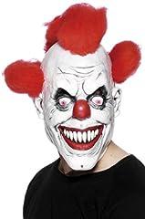 Idea Regalo - SMIFFYS Maschera Clown 3/4, per adulti