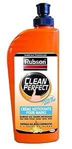 Rubson 1658520 Clean Perfect Crème nettoyante pour mains Flacon 400 ml