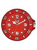 Ice Watch 015208Wall Clock Unisex Plastic Analog Red