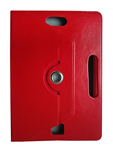 Fastway 360 Degree Rotating Tablet Book Cover For Milagrow PiPo TabTop M8 PRO (3G+16GB)-Red  available at amazon for Rs.349