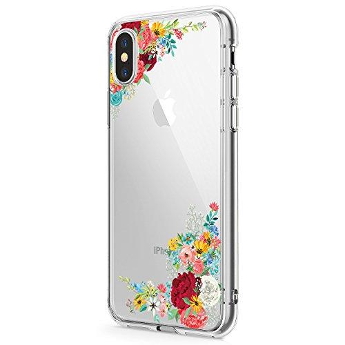 Schutzhülle für iPhone XR, Blumen-Design, niedliche Blumen, für Mädchen/Frauen, Schlankes Weiches Silikon, TPU, 4 - Fall 4 Frauen Niedlich Für Iphone