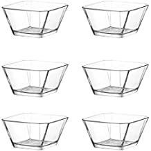 Lav 6TLG Cristal rígida rígida (Vidrio–Cuenco de postre vorspeise Cristal Vasos 300ml