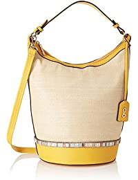 global desi Women's Hobo (Ochre Yellow)