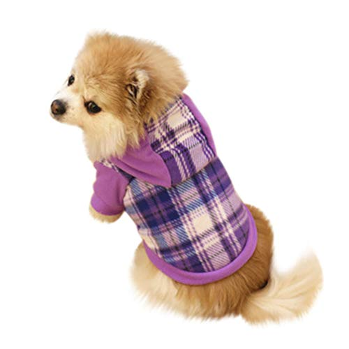 Ropa para Mascotas,Dragon868 Algodón de Invierno Woodland Camuflaje Sudaderas Camisetas Perro Mascota Ropa